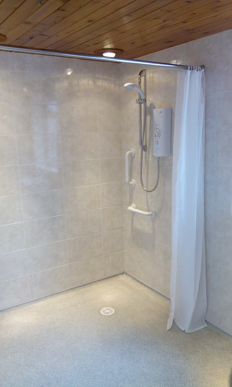The Lack Of A Shower Cubicle Saves Space Making Wet Rooms Ideal Solution For Smaller Bathrooms Furthermore They Are Practical As Offer Simple